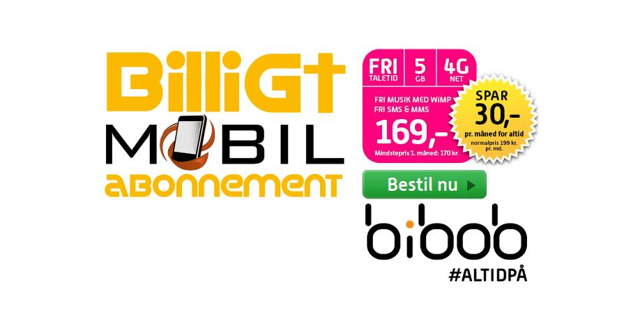 Bibob FRI TALE for altid - Tilbud!