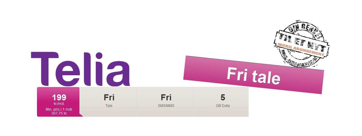 Telia 4Sure premium FRI TALE