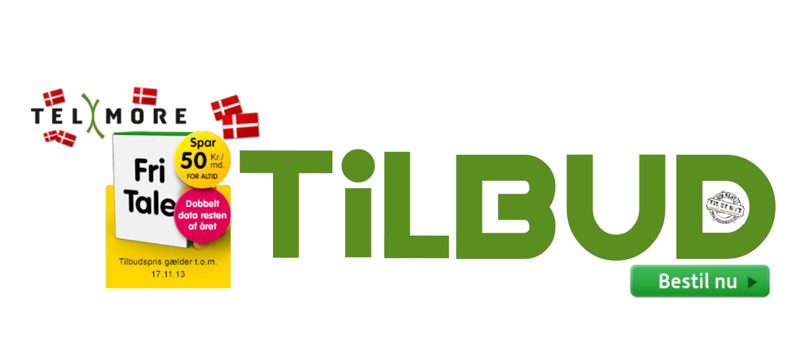 Telmore FRI TALE  kampagne tilbud